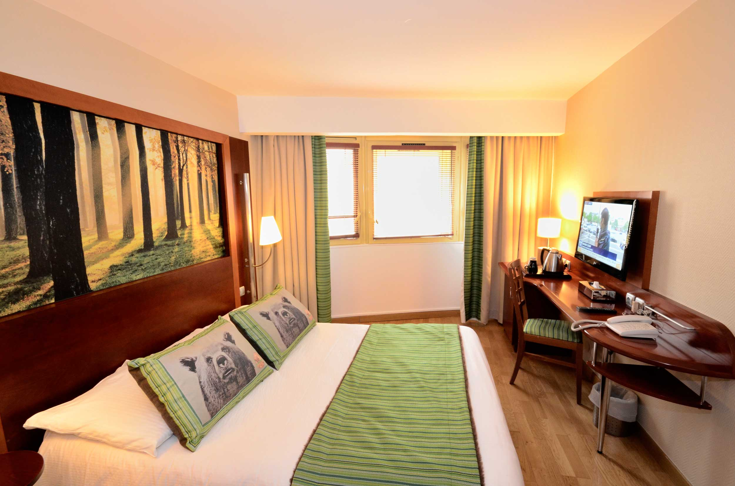 Green h tels chambre double for Hotel chambre 13