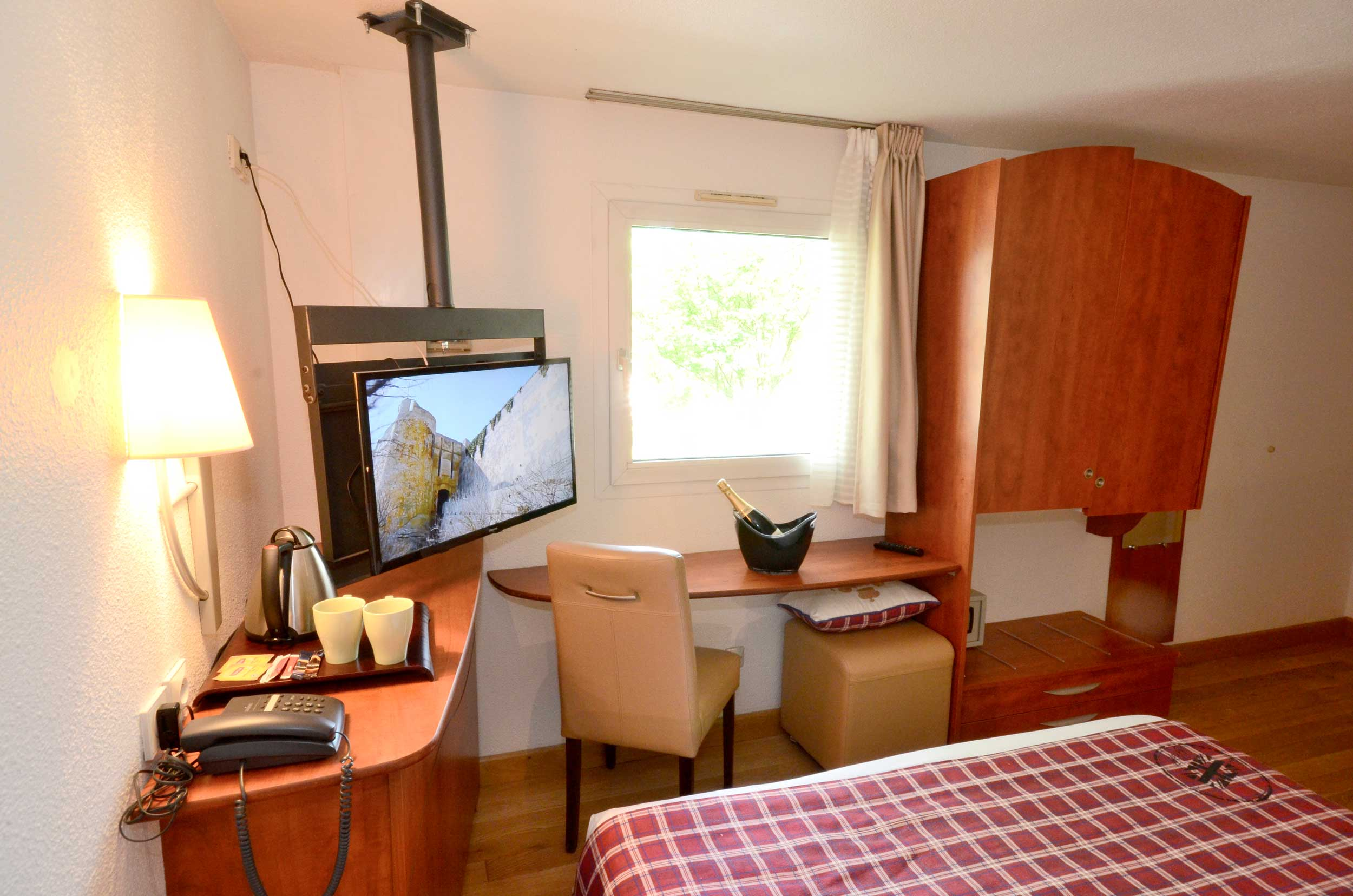 Green h tels chambre double for Roissy chambres