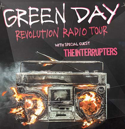 Green Day Revolution Radio Tour
