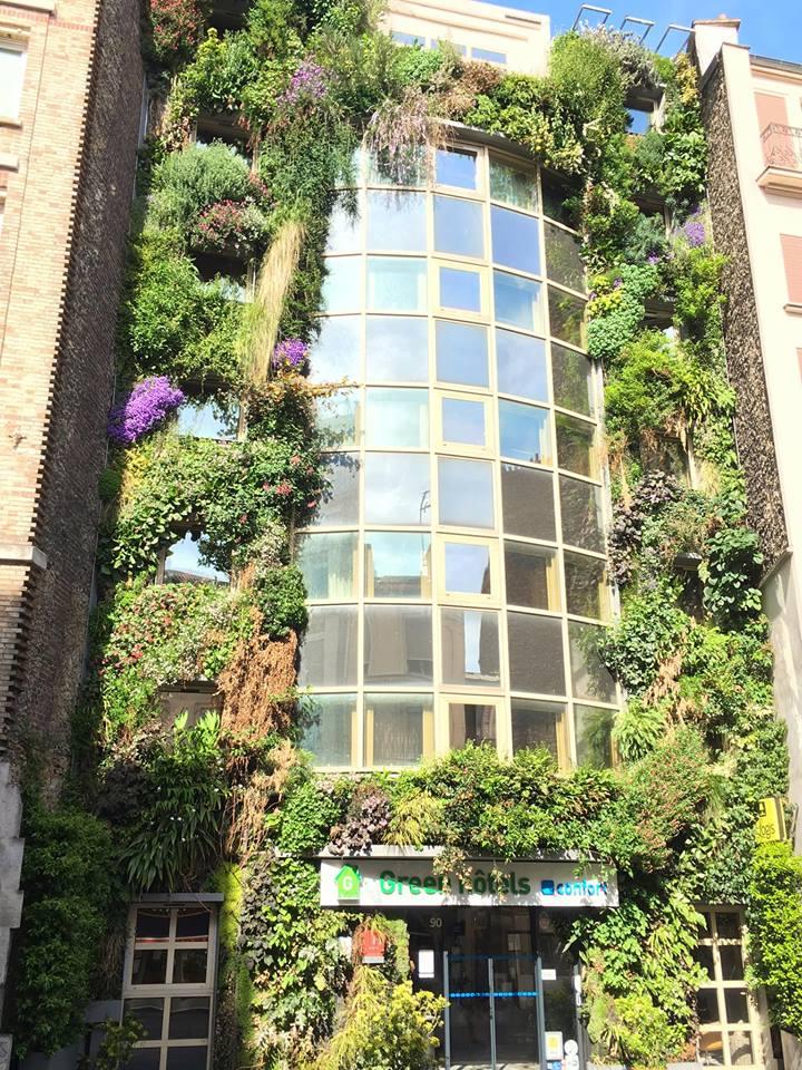 Façade GREEN HOTELS MAI 17