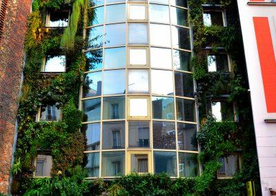 Façade Green hotel Paris 13