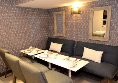 canapé green hotels Paris 13