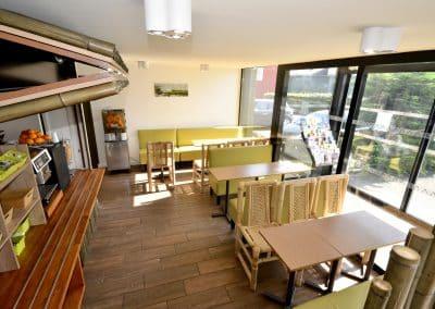 restaurant green hotels fleury